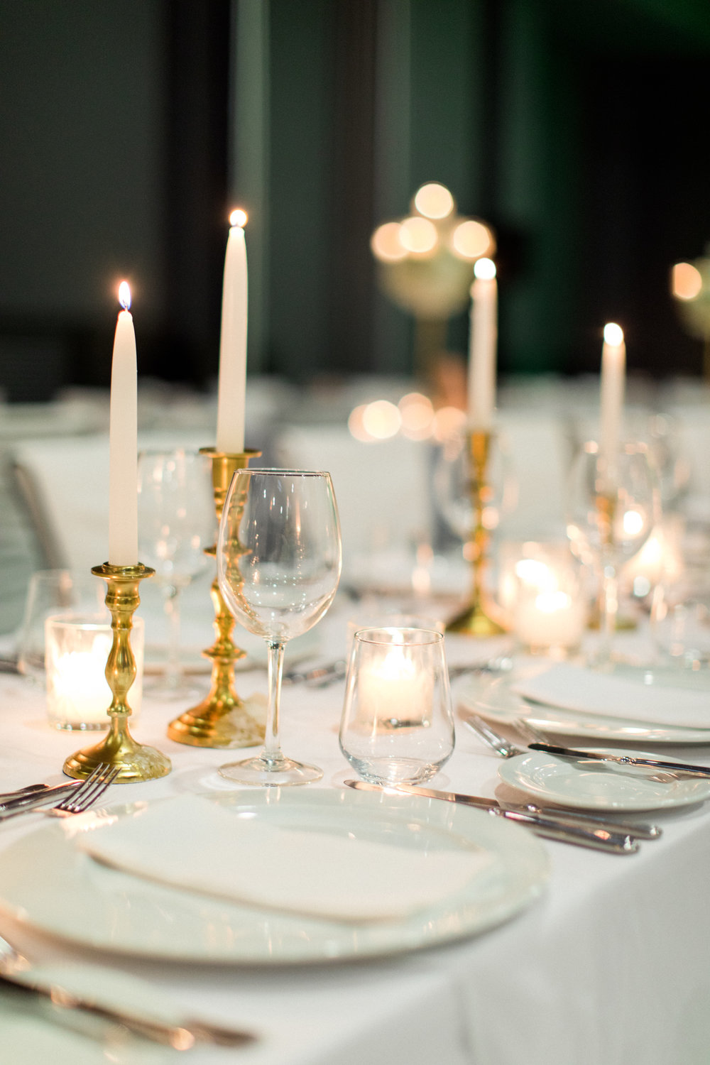 wedding-dinner-party-jewish-traditional-menu-luxury-event-decoration-hanging-wisteria-crystal-chandeliers-light-design-table numbers-table-arrangements-gold-candle-holder