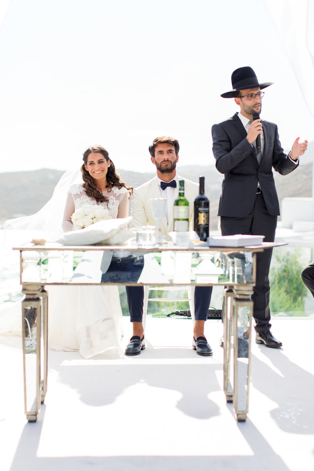 JEWISHWEDDING INMYKONOS - ROYAL MYCONIAN RESORTMYKONOS ISLAND