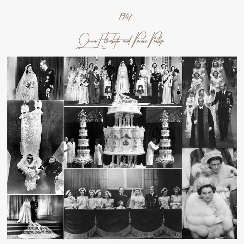 1947 | Queen Elizabeth and Prince Philip