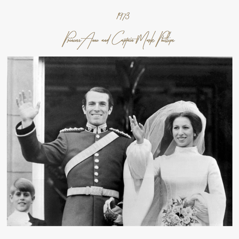 1973 | Princess Anne and Captain Mark Phillips