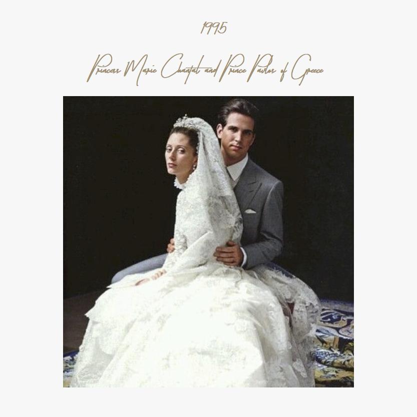 1995 | Princess Marie Chantal and Prince Pavlos of Greece