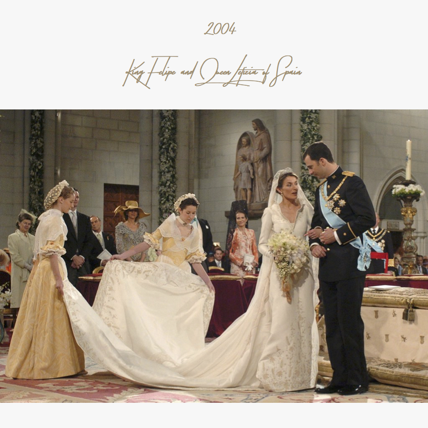2004 | King Felipe and Queen Letizia of Spain