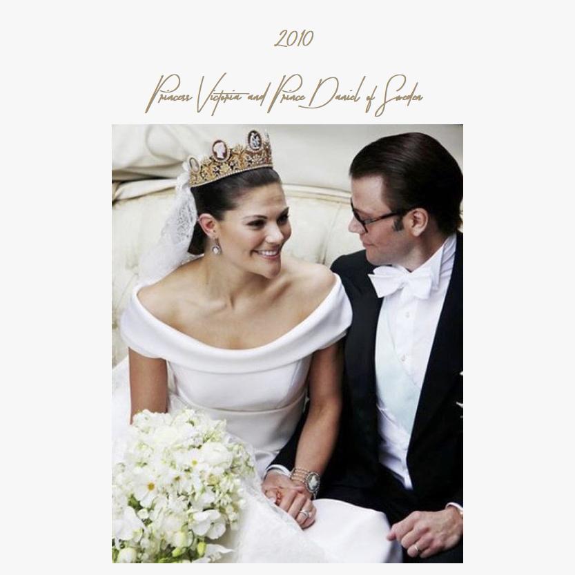 2010 | Princess Victoria and Prince Daniel of Sweden