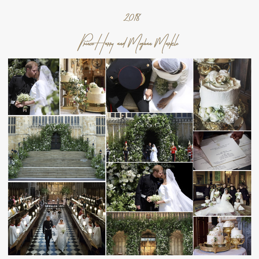 2018 | Prince Harry and Meghan Markle