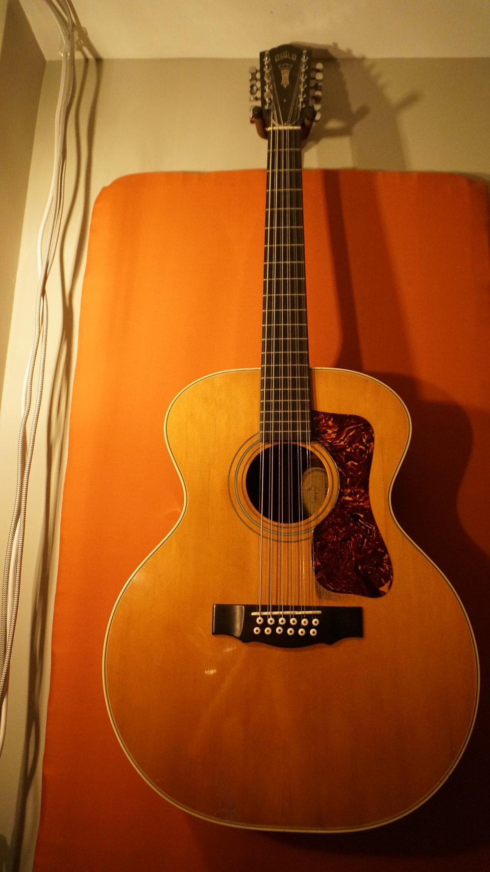 Guild F312 12 string. (1974)