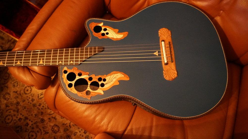 Ovation Adamas baritone prototype