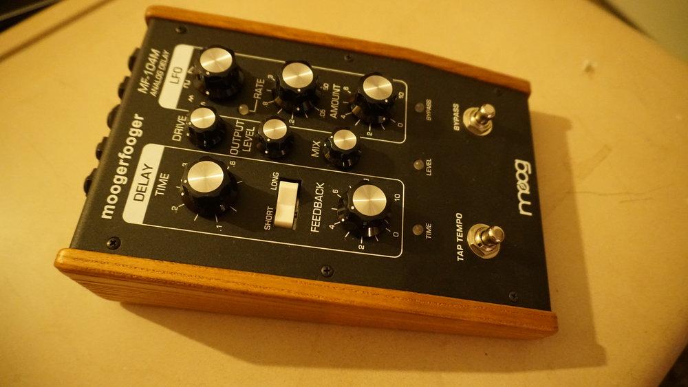 Moog Moogerfooger analog delay