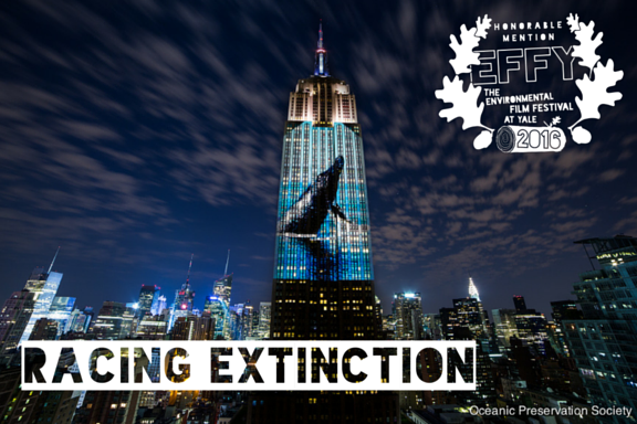 2016 Honorable Mention: Racing Extinction Directed by Louie Psihoyos Feature Film Utilizing state-of-the-art equipment, Oscar®-winner Louie Psihoyos (The Cove) assembles a team of artists and activists intent on showing the world never-before-seen images that expose issues of endangered species and mass extinction. TRAILER