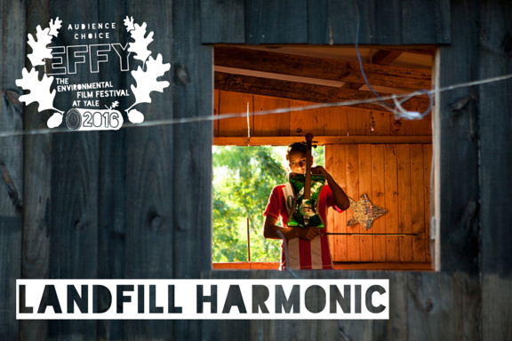 2016 Audience Choice: Landfill Harmonic    Directed by Brad Allgood and Graham Townsley  Feature Film  Landfill Harmonic follows the Recycled Orchestra of Cateura, a Paraguayan musical group that plays instruments made entirely out of garbage. When their story goes viral, the orchestra is catapulted into the global spotlight. Under the guidance of idealistic music director Favio Chavez, the orchestra must navigate a strange new world of arenas and sold-out concerts. However, when a natural disaster strikes their country, Favio must find a way to keep the orchestra intact and provide a source of hope for their town. The film is a testament to the transformative power of music and the resilience of the human spirit.    TRAILER