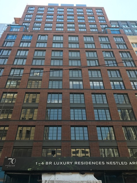 70 Charlton  - Client: Extell Development CompanyArchitect: Beyer Blinder Belle ArchitectsTwo 22-story predominately residential towers linked by a passageway on the first floor which also includes retail spaces. 70 Charlton was developed under the city's Inclusionary Housing Program which required 20 percent of the units as affordable. For more information regarding this project, follow this link: https://www.70charlton.com/Services Provided:• Zoning and Code Consulting• Filing and Approval of all DOB and FDNY related   applications            • Permit Procurement• Certificate of Occupancy • Walk-through Inspections,  Application Sign-off