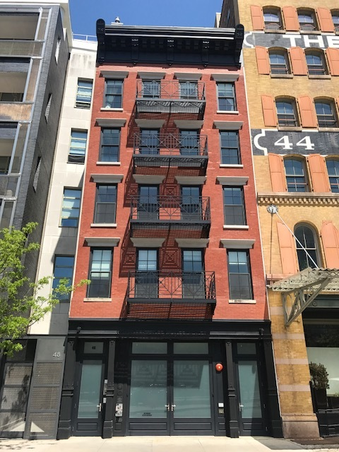 46 Laight Street  - Architect: Freyer Architects6 Story Residential Loft building