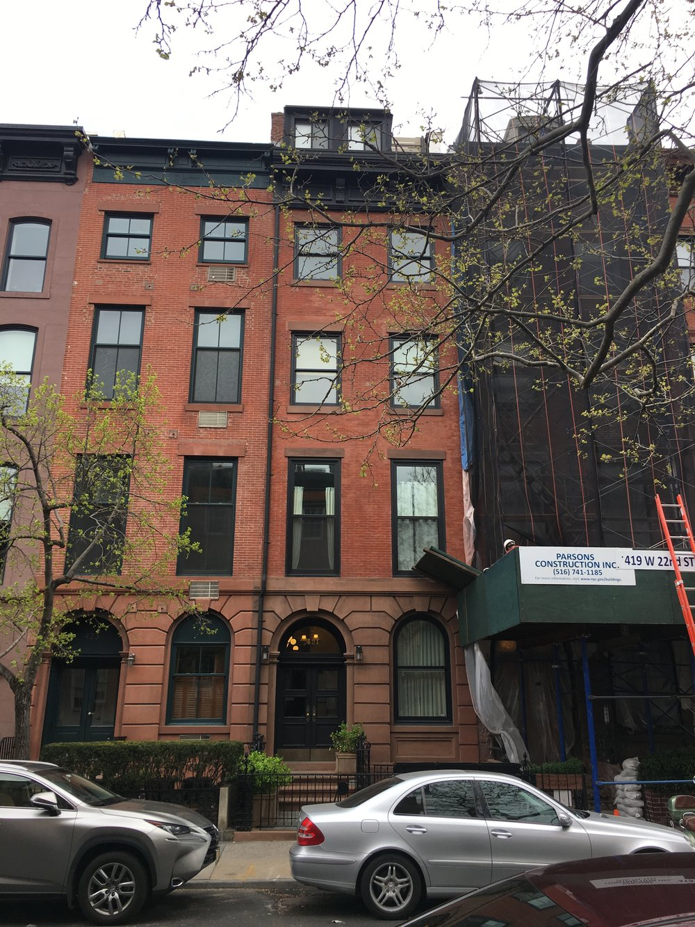 421 West 22nd Street  - Architect: Andrea Steele5 story two family residence
