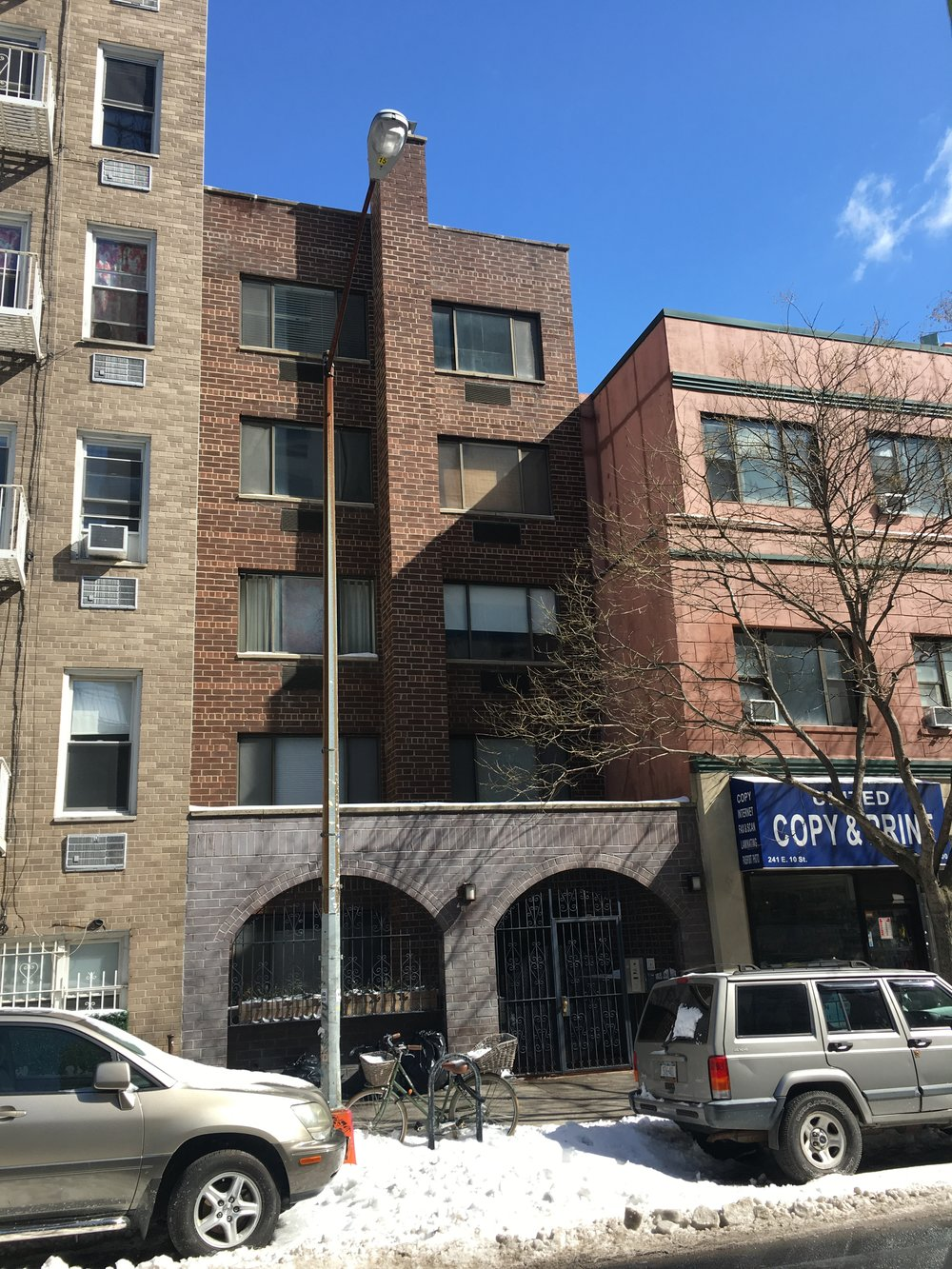 239 East 10th Street - Architect: Jeffrey Cole6 story mixed use building