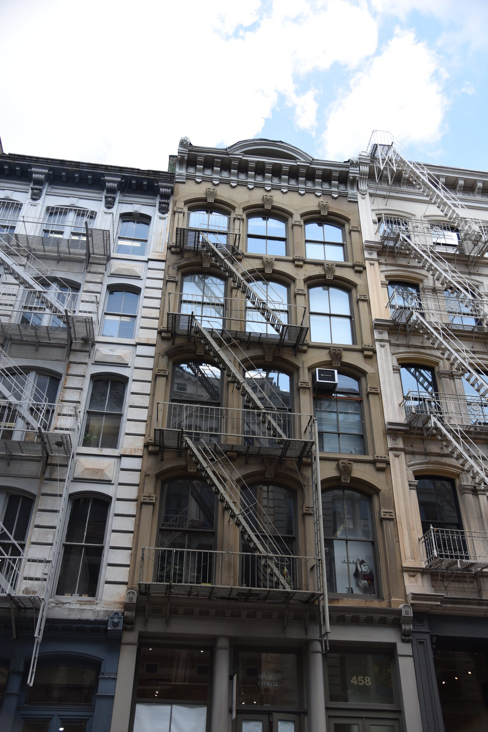 458 Broome Street - Space4Architecture2 story Joint Living-Work Quarters unit