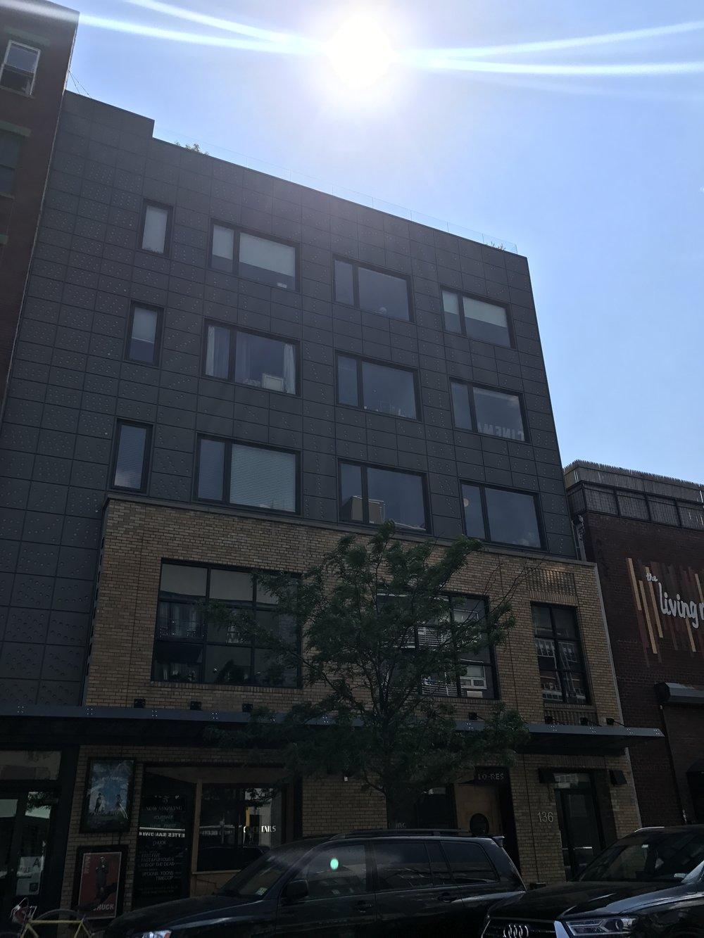 136 Metropolitan Avenue - Caliper Architecture PC5 story mixed use building