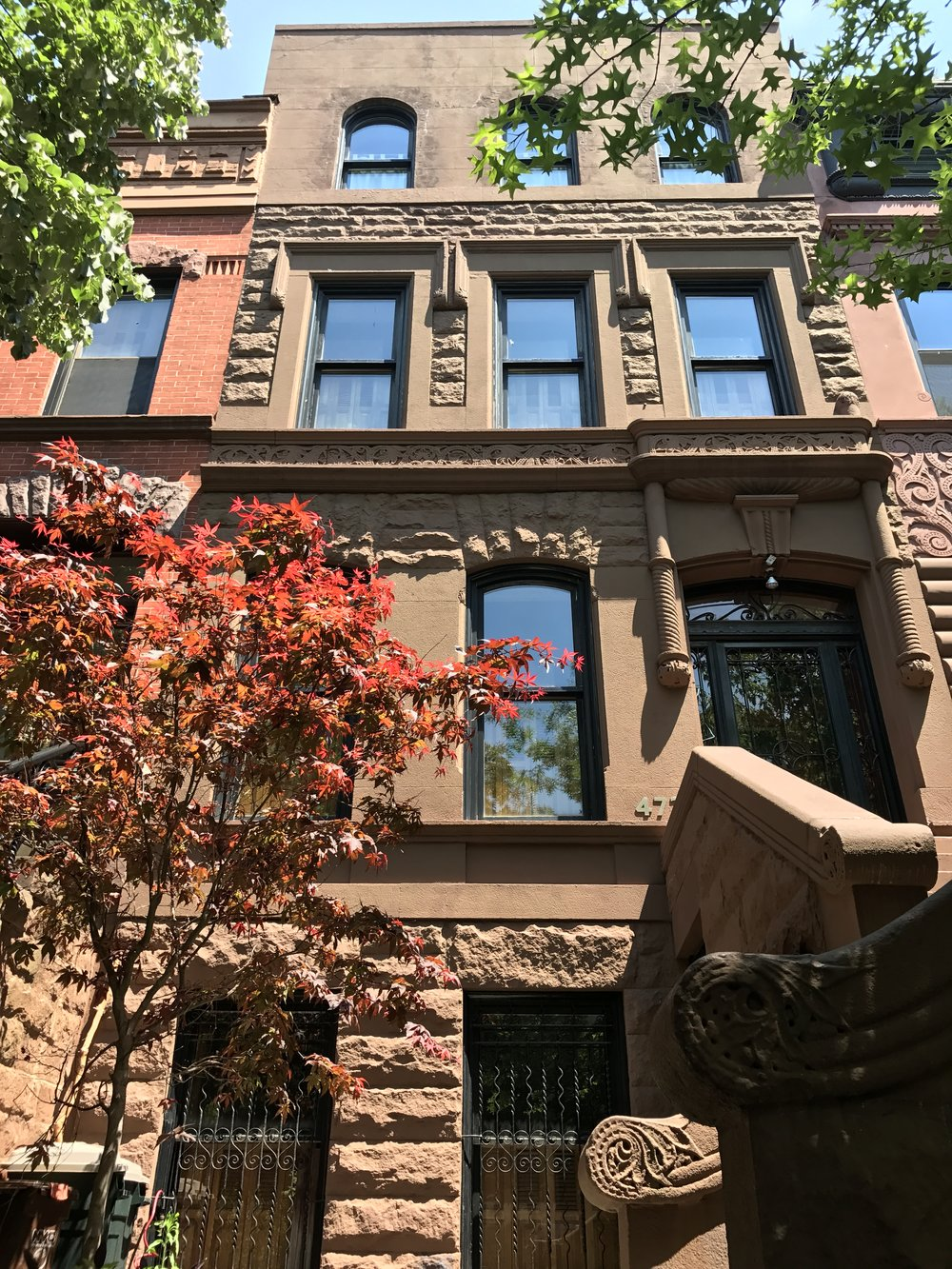 473 14th Street, Brooklyn - Timothy Lindman Architect4 story single family residence