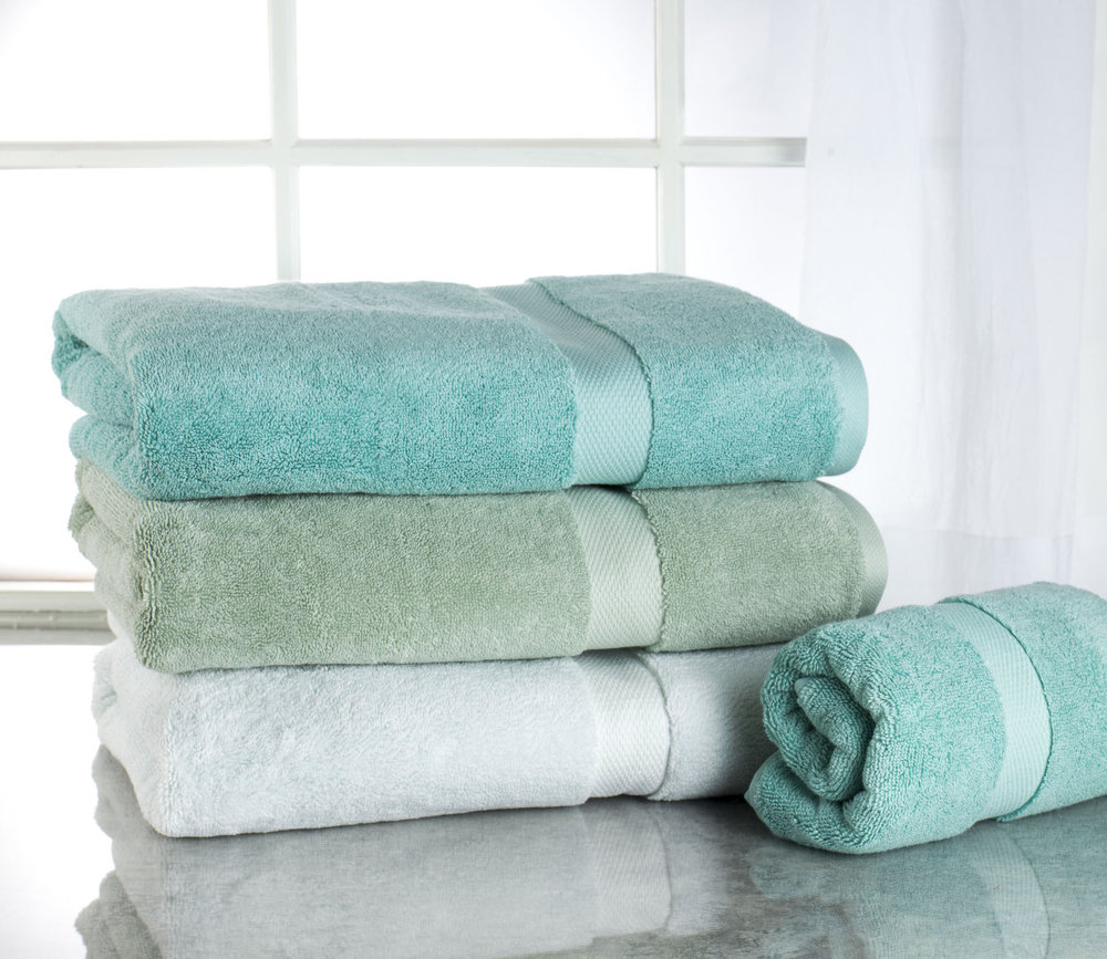 Lightly Styled Towels