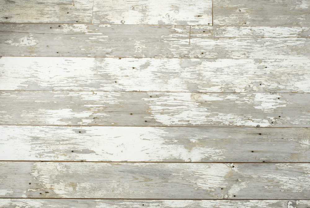 White Wood Distressed Plain
