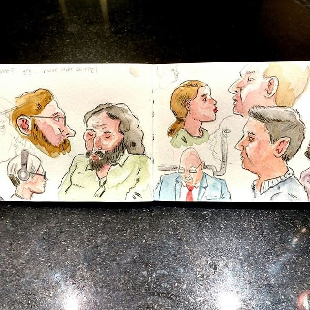 Sketchbook Washington DC  #citysketching #watercolor #Sketchbook #urbansketch