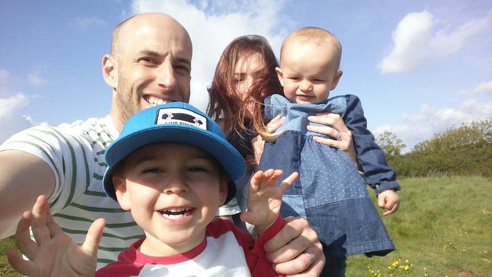 A bit about me... - I'm Jess and this is me, my husband Andy, my son Barnaby Walter and my daughter Lois Fearne.  So now you know where the name