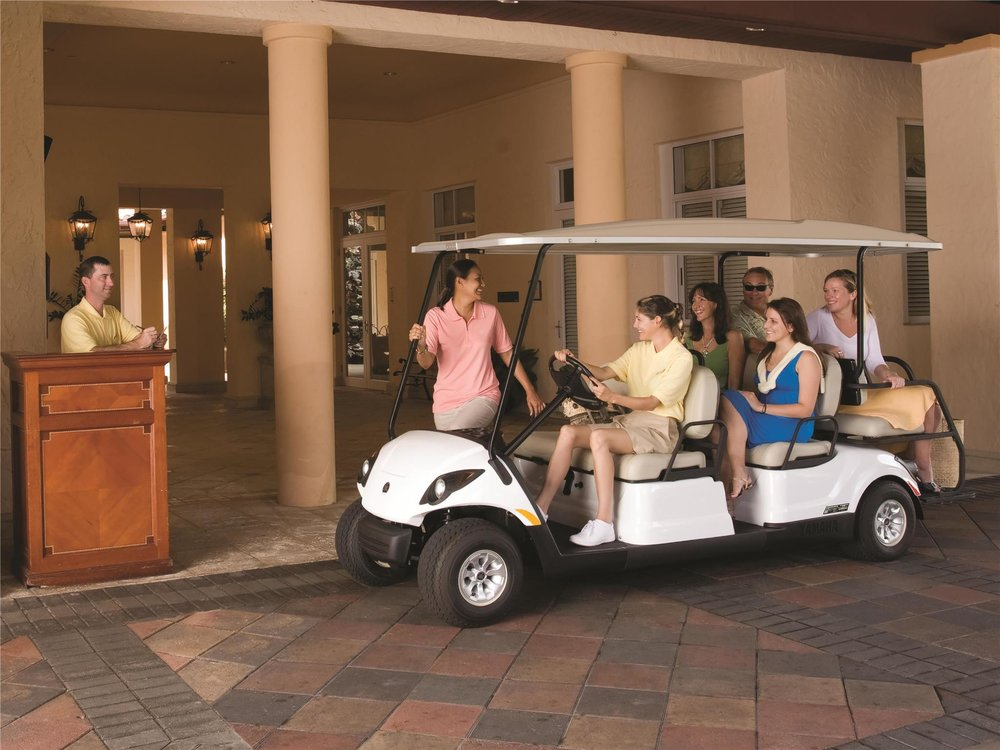 Yamaha Golf Cart Concierge 6