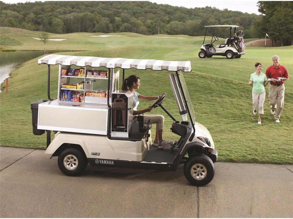 Yamaha Fairway Lounge Golf Cart