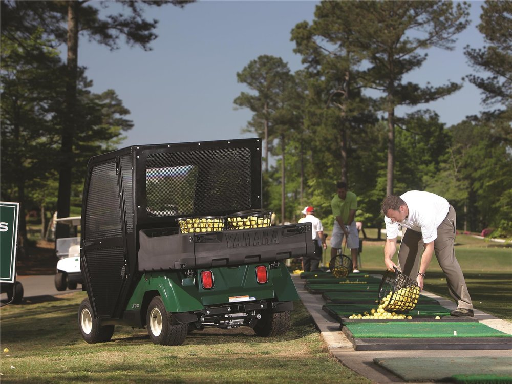 Yamaha Range Picker Golf Cart