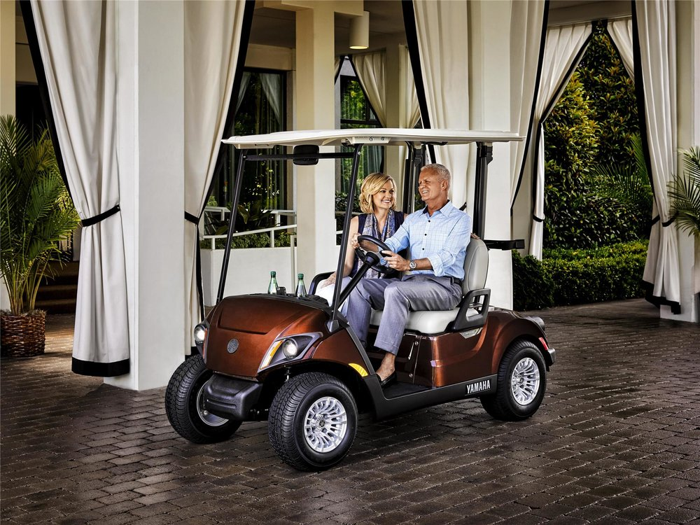 Yamaha The Drive 2 Golf Cart