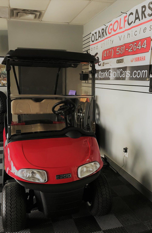 Ezgo Golf Carts Lithium Logo on