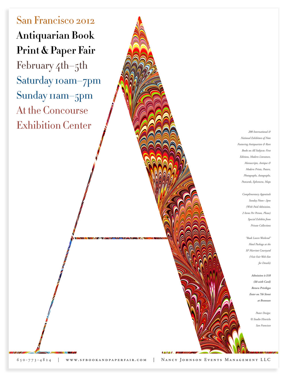 Biannual Book Print & Paper show.