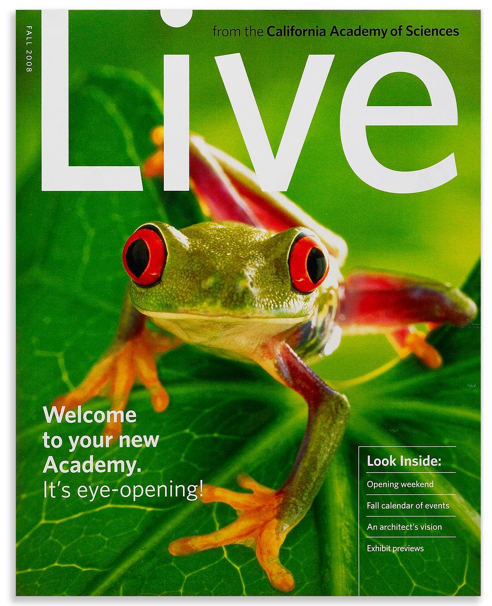 Live, California Academy of Sciences