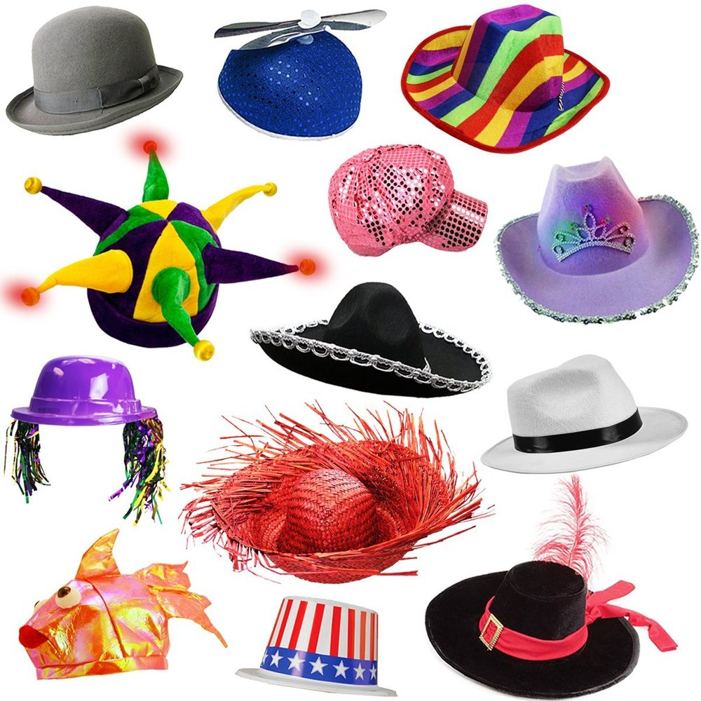 Assorted Hat Props