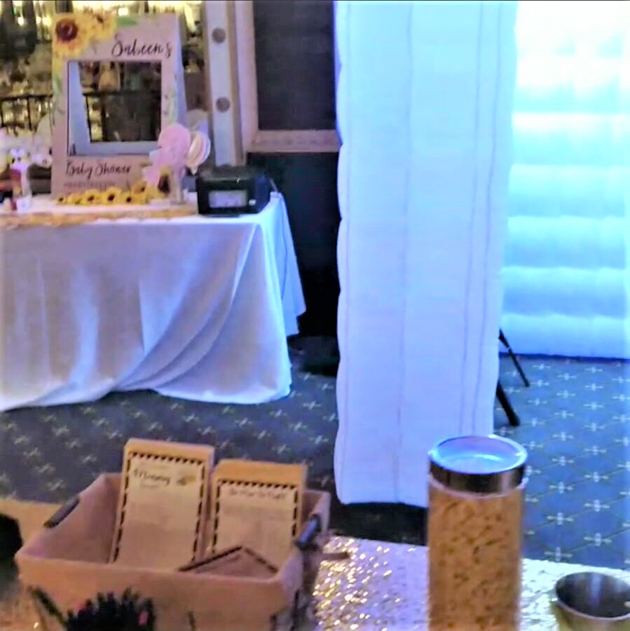 Enclosed LED Photo Booth