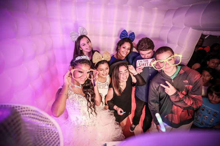 LED Photobooth Enclosure