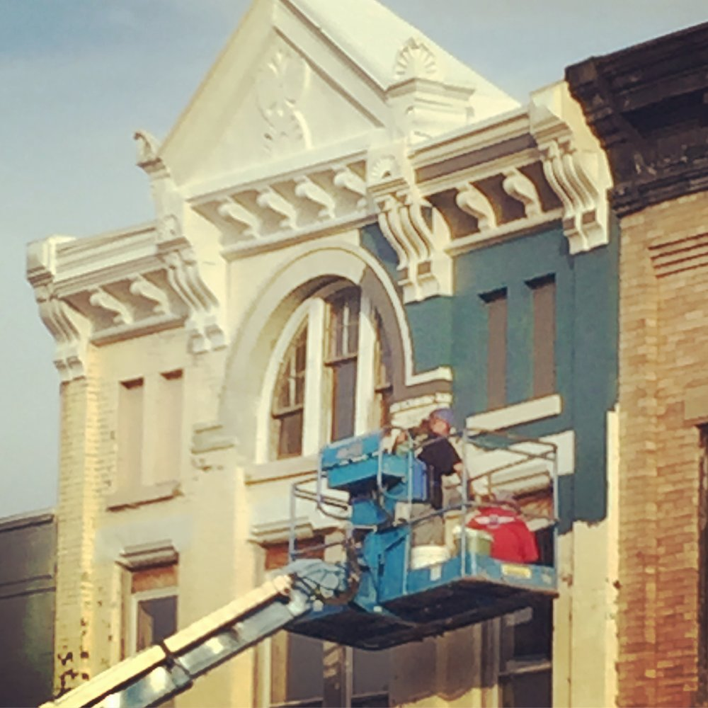 Facade rehab on S. Main Street 2016
