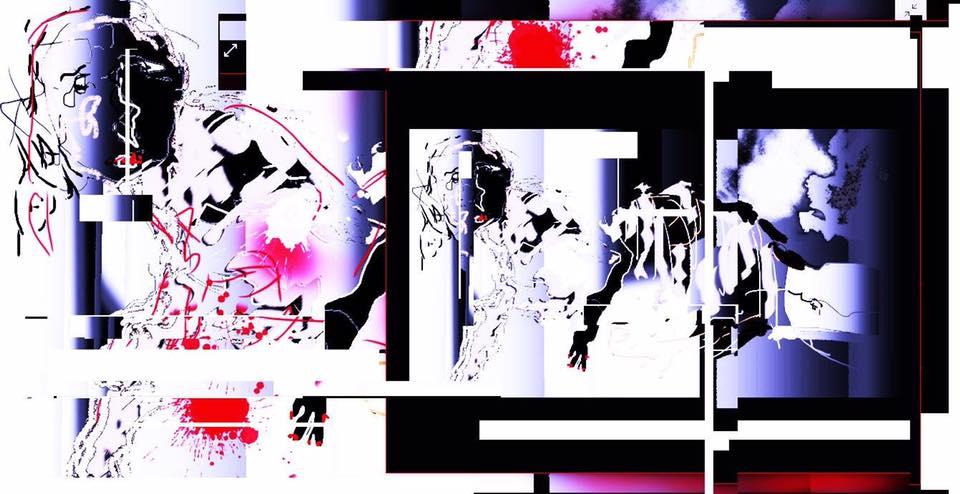 Filozof  Mixed media, digital painting, 2018
