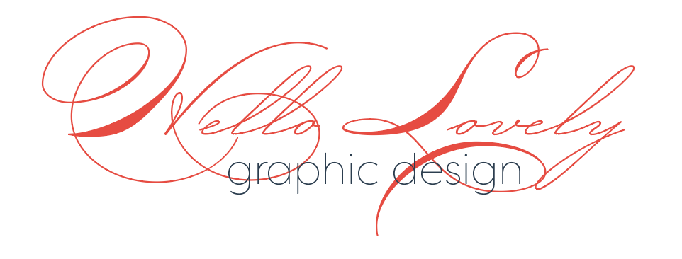 Hello Lovely graphic design services