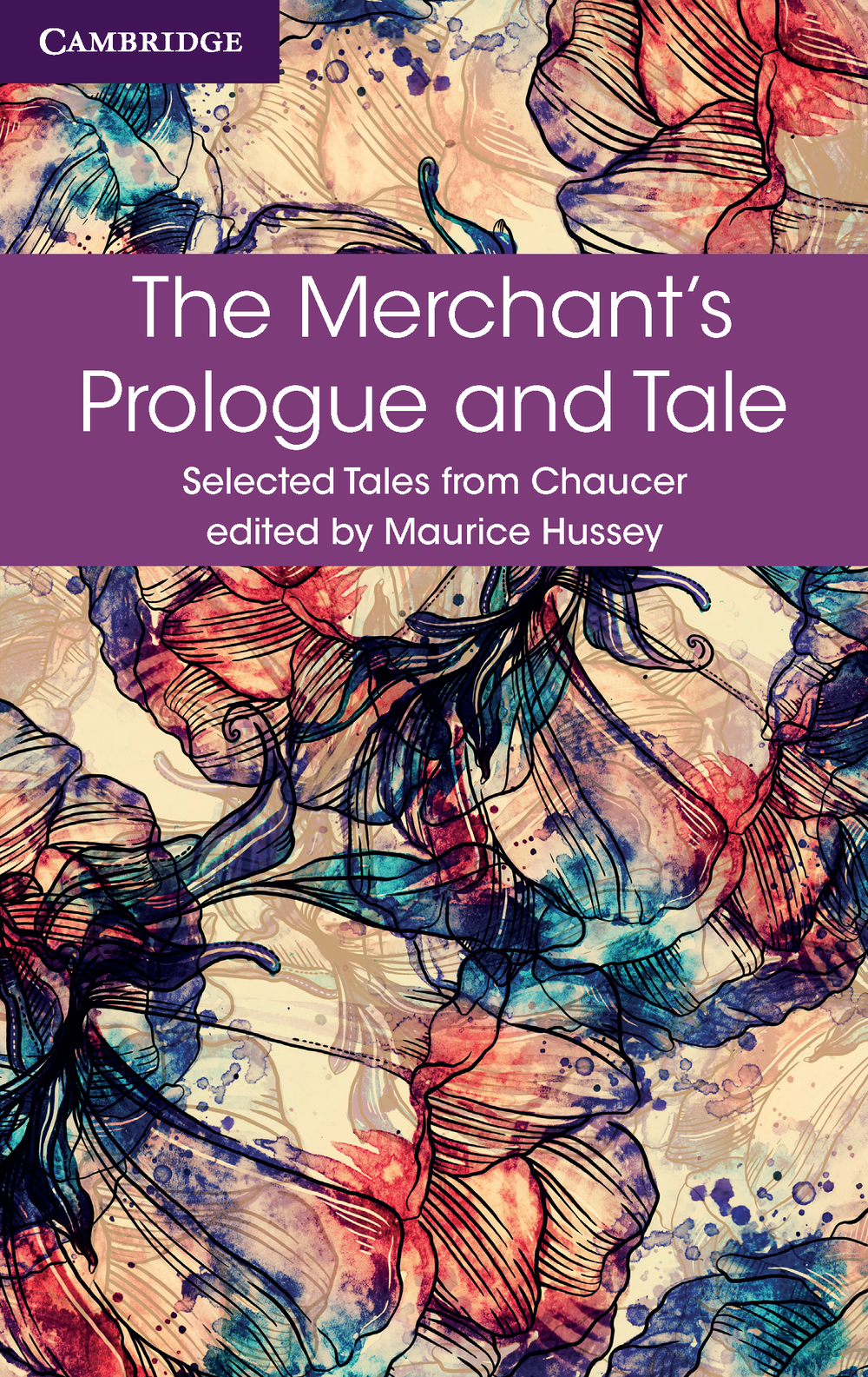 The ebook cover for one of the Chaucer series which became a series of very bright series