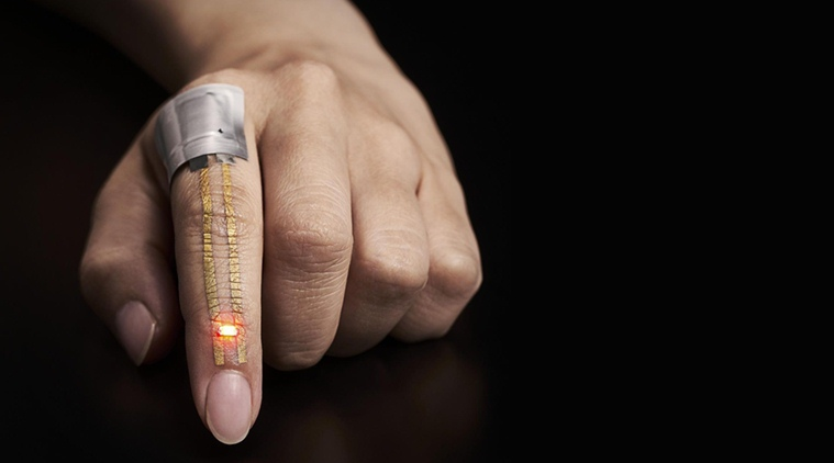 New wearable e-skin sensor to boost health monitoring — Nano