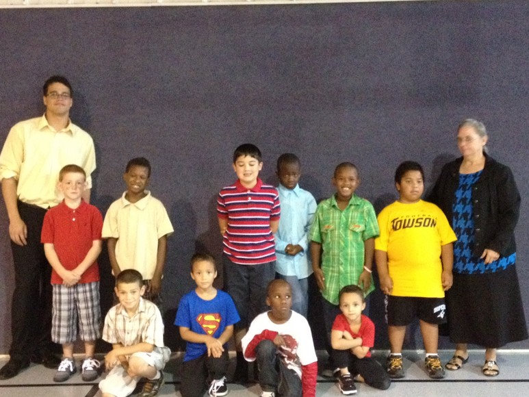 Beginner Boys Sunday School Class
