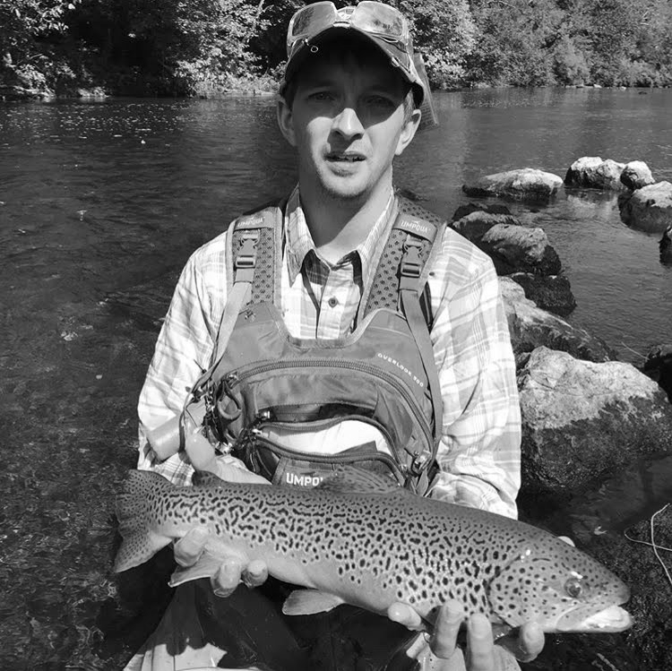 Tyler Umbenhen   Born and raised in a small town in Pennsylvania I have been a fisherman all my life that I can remember. I began fly fishing only 5 years ago and I have established myself as a PA State Guide as well as an accomplished fly tier. I enjoy tying flies and teaching others all about the great art of fly fishing. When I am not on the water, I am volunteering for my local fire company where I serve as a Lieutenant. My favorite season of all has got to be spring, fresh air, blue skies and trout fishing. My future plans in my life include wherever life takes me, whether it's becoming a fly shop owner, or an established renowned fly guide in the West…..Stay Tuned!   Website:  www.makrabbitt.com     Email:    Tyleru007@aol.com     Instagram:  @tkid521     Facebook:  Semper Fly Rods