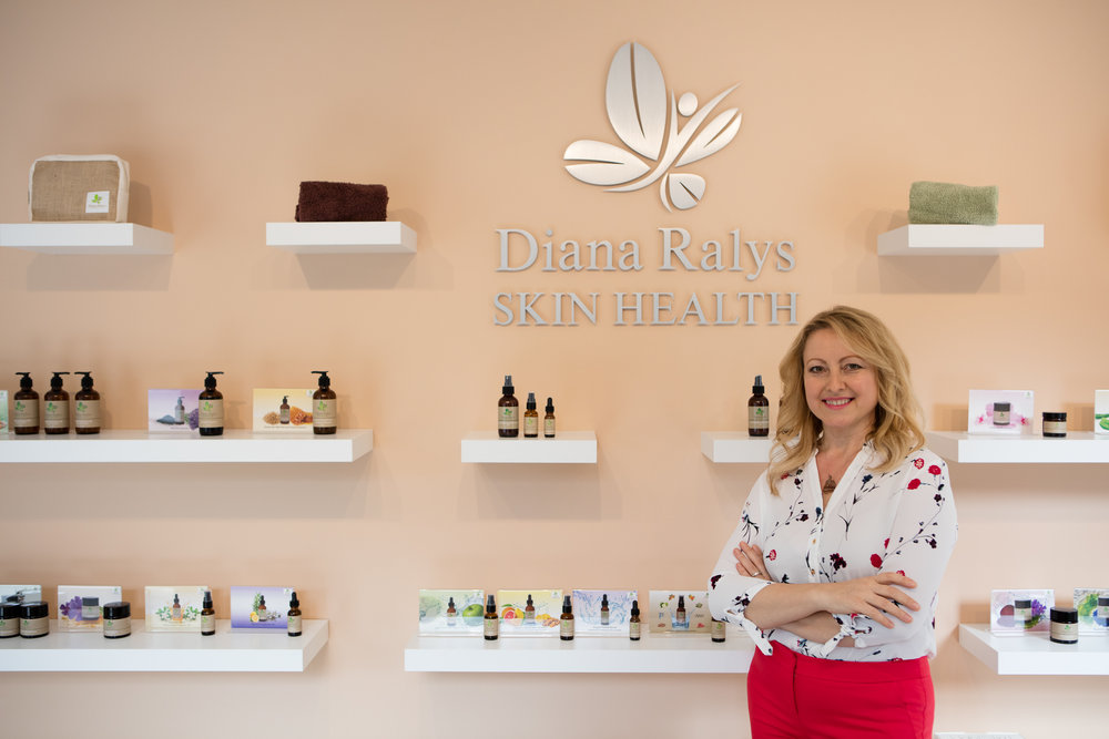 By  Diana Ralys, LE, COE, HC    Skin Expert, Health Coach, Board Certified Holistic Drugless Practitioner, Reiki Master, Owner and Founder of Radiance Wellness Spa, Diana Ralys Skin Health Product formulator, #1 Best Selling Author, Educator and Event Speaker.