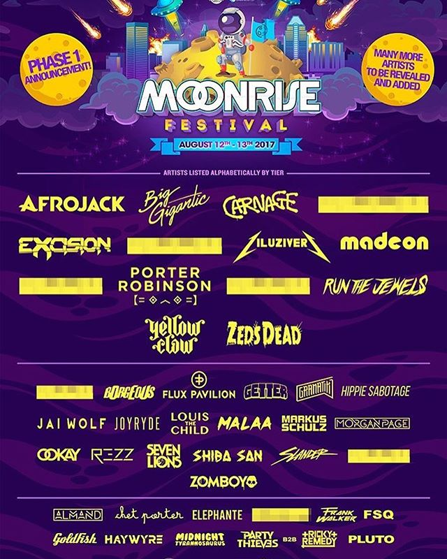 Super excited to be playing at Moonrise Music Festival this summer!!!!!!!