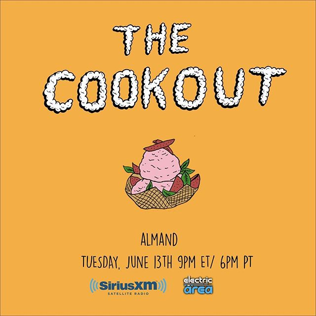I'm taking over @siriusxm tomorrow at 9pm! Listen to my ONE HOUR mix for @thecookoutmusic on Channel 52!