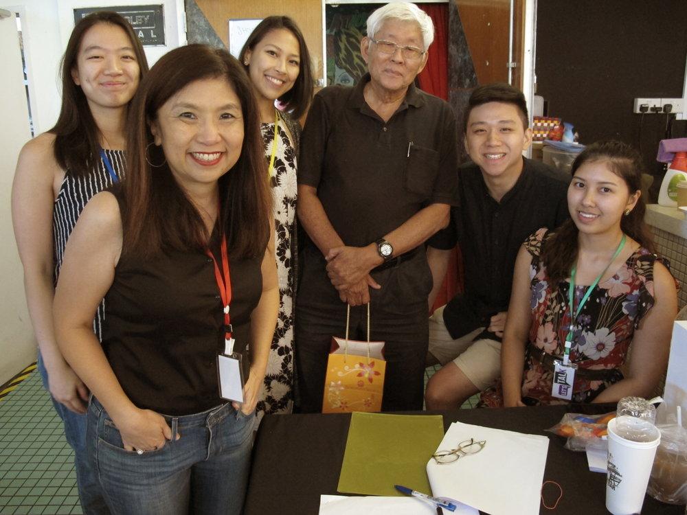 Let's Talk Team with Speaker Prof Tay Kheng Soon