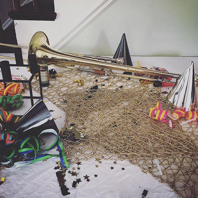 #themorningafter #latenight #trombone 📷: @enchantedbroccoli
