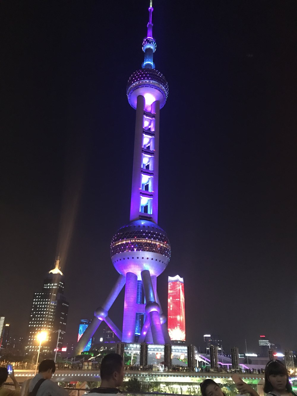 The world famous Oriental Pearl Tower