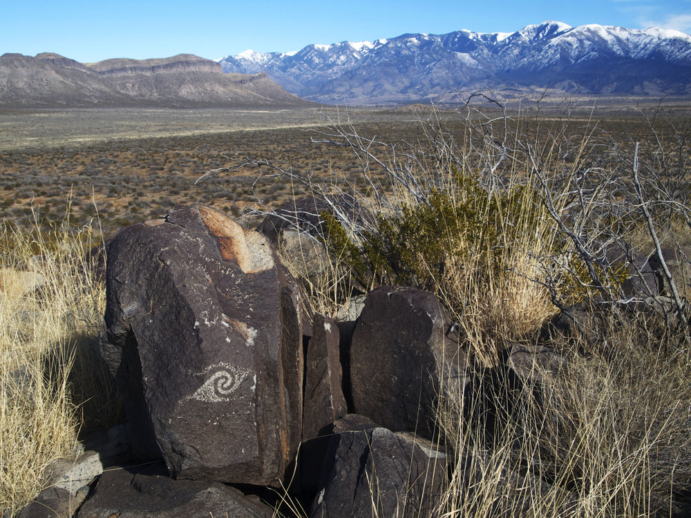 Three Rivers Petroglyph Site -Photo by TIm Giller