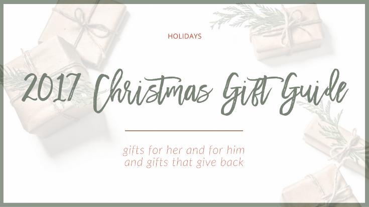 2017 Christmas Gift Guide | The Social Walker
