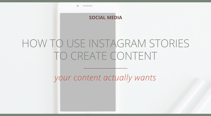 How to Use Instagram Stories to Create Content  | The Social Walker Agency